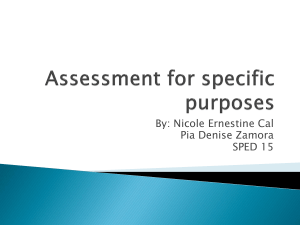 Assessment-for-specific-purposes