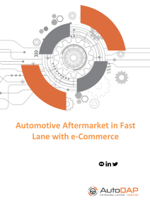 Automotive Aftermarket in Fast Lane with e-Commerce