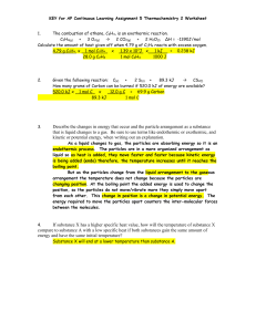 continuous learning assignment 5 - ap - thermochemistry 2 worksheet - key