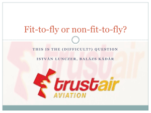 Fit-to-fly or not 2