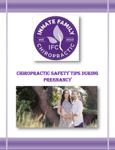Chiropractic Safety Tips During Pregnancy