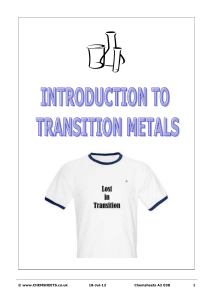 chemsheets a2 038  transition metals introduction  (2)