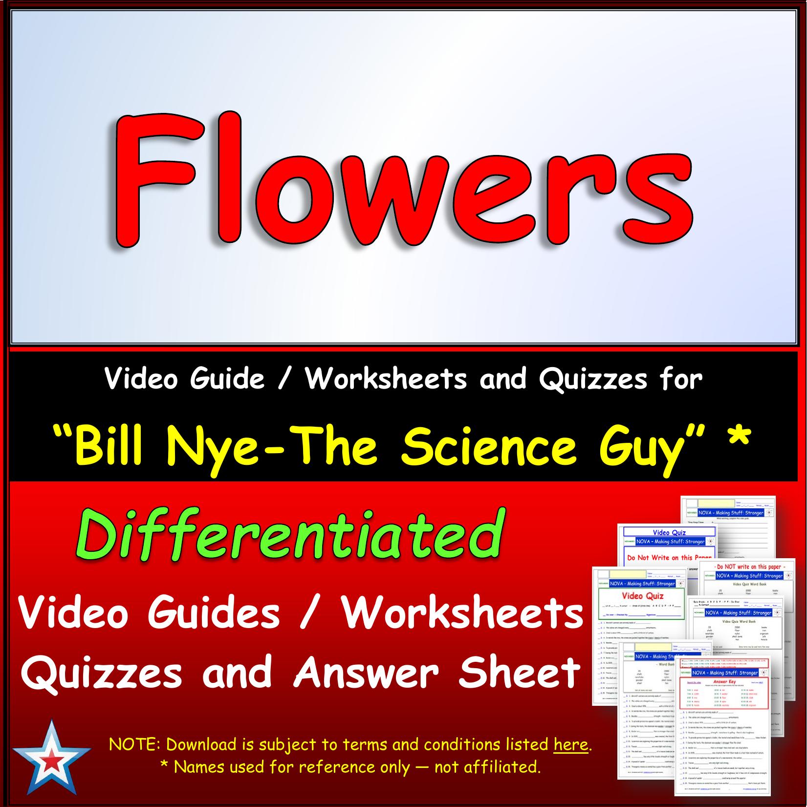 Bill Nye Flowers