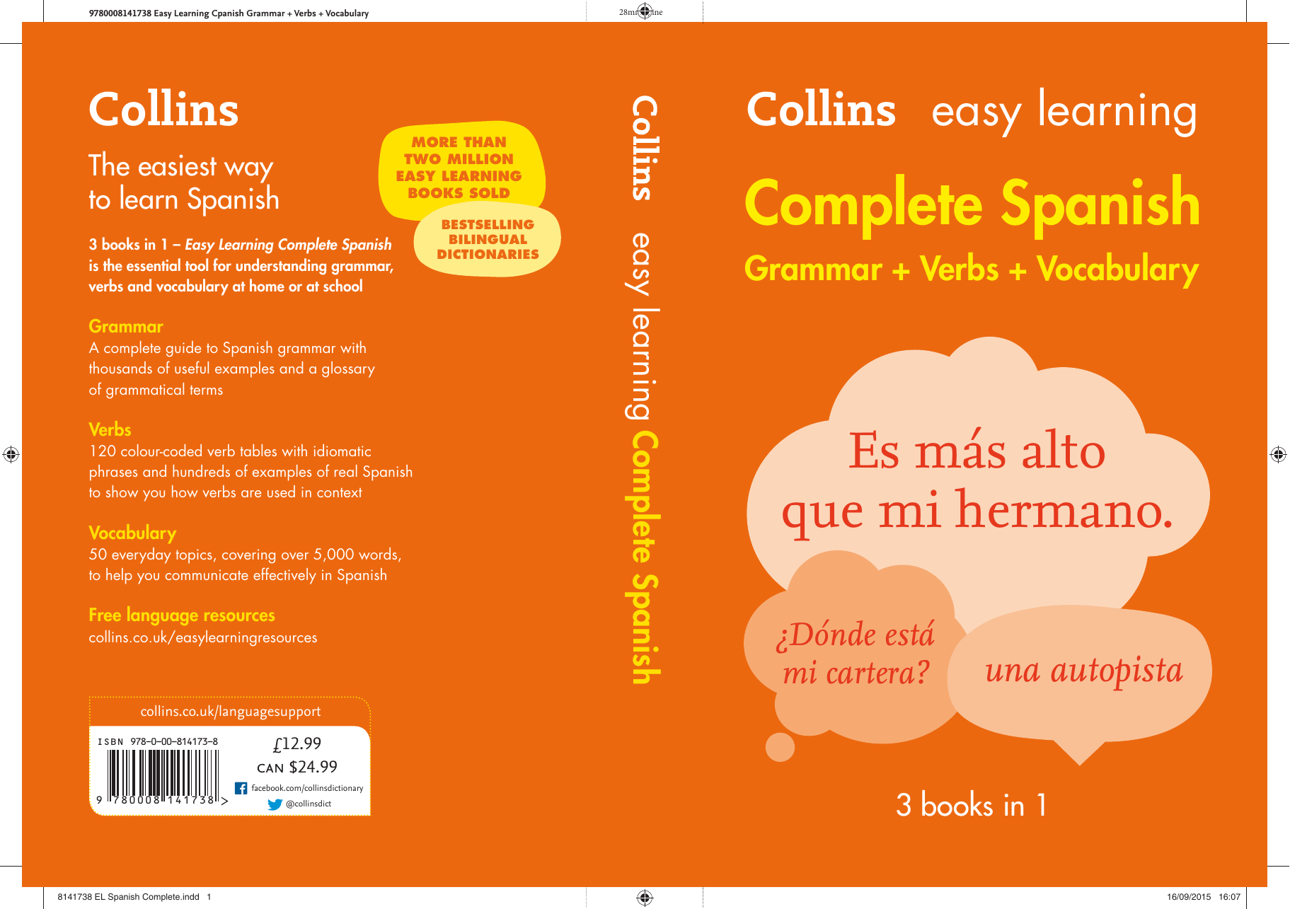 Collins. Easy Learning Complete Spanish Grammar