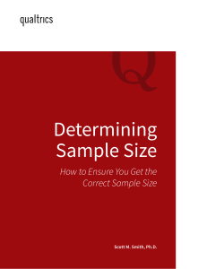 Determining-Sample-Size