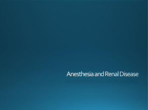 Anesthesia Renal Disease - 2018 - Upload