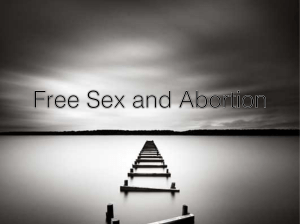 ppt free sex and abortion