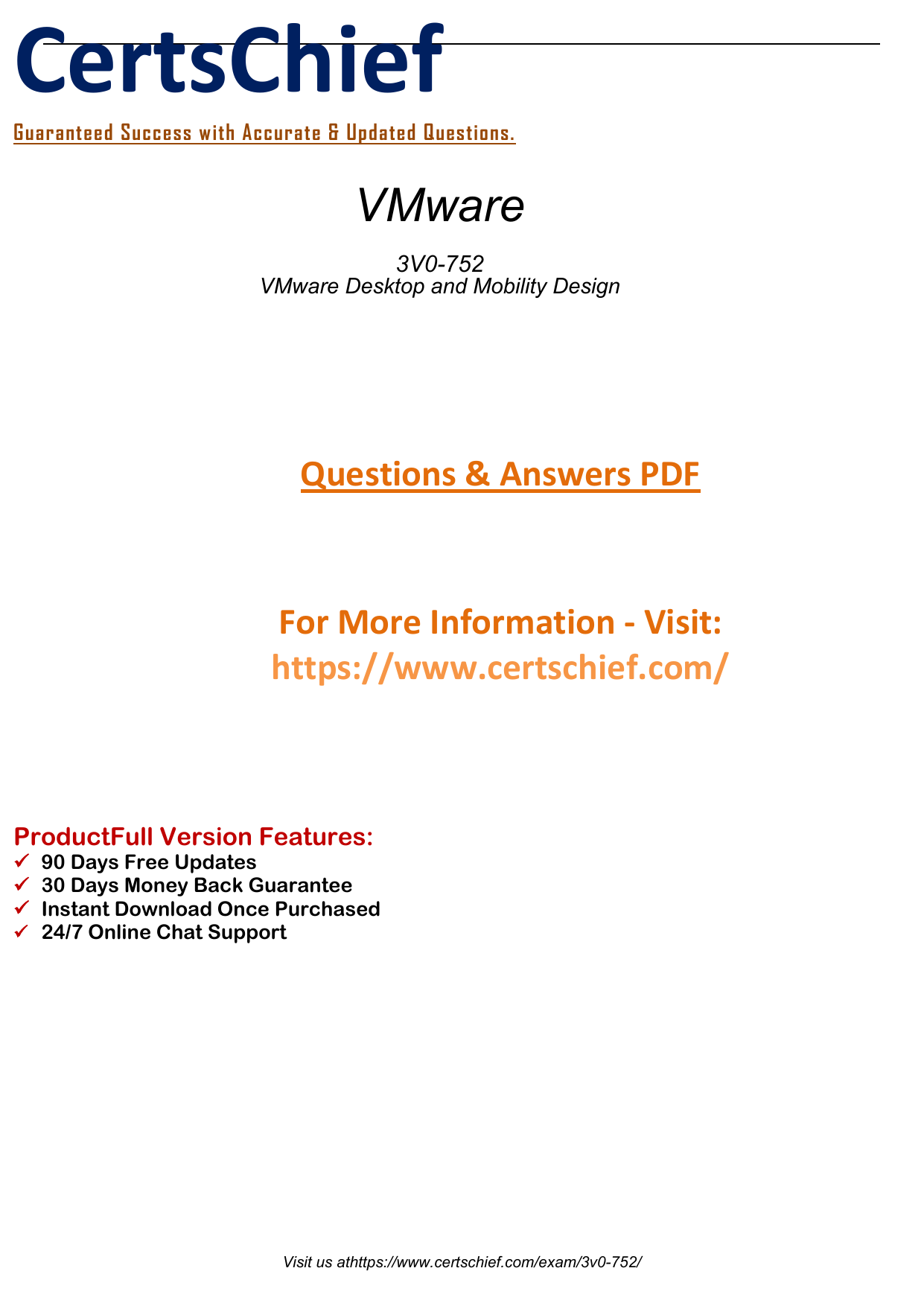 3V0-752 Real PDF Exam Preparation Guides 2019