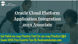 Oracle 1z0-1042  Practice Test Dumps