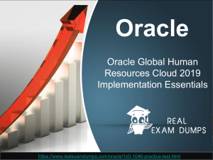 Updated Oracle 1z0-1046 Exam Questions & Answers With Realexamdumps.com