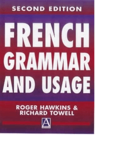 French Grammar and Usage (gnv64)