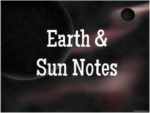 Earth & Sun.ppt