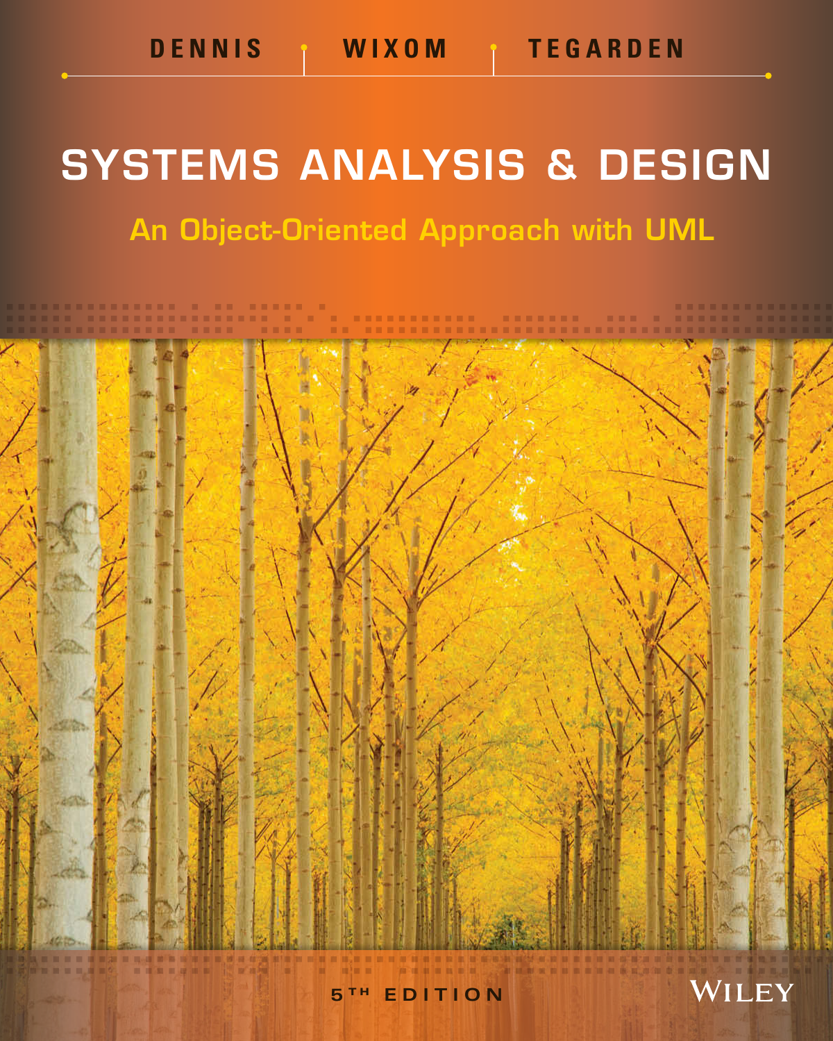 Systems Analysis And Design An Object Oriented Approach With Uml 5th Edition 9781118804674