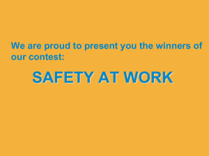 Safety at work awards[1]