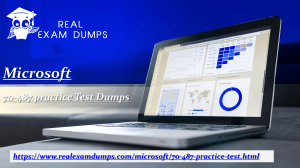 Buy Microsoft 70-487 Exam Dumps - Microsoft 70-487 Study Guide - Realexamdumps.com