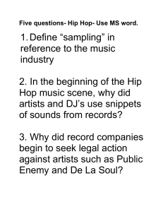 Five questions for Hip-Hop Clips on PBS