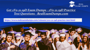 Download VMware  2V0-21.19D Practice Test Dumps - 2V0-21.19D Practice Test Questions - RealExamDumps.com
