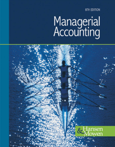 managerial-accounting 8e hansen-ebook