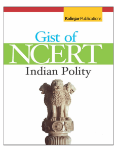 The Gist of NCERT - Indian Polity ( PDFDrive.com )