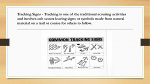 Tracking Signs & Countryside Code