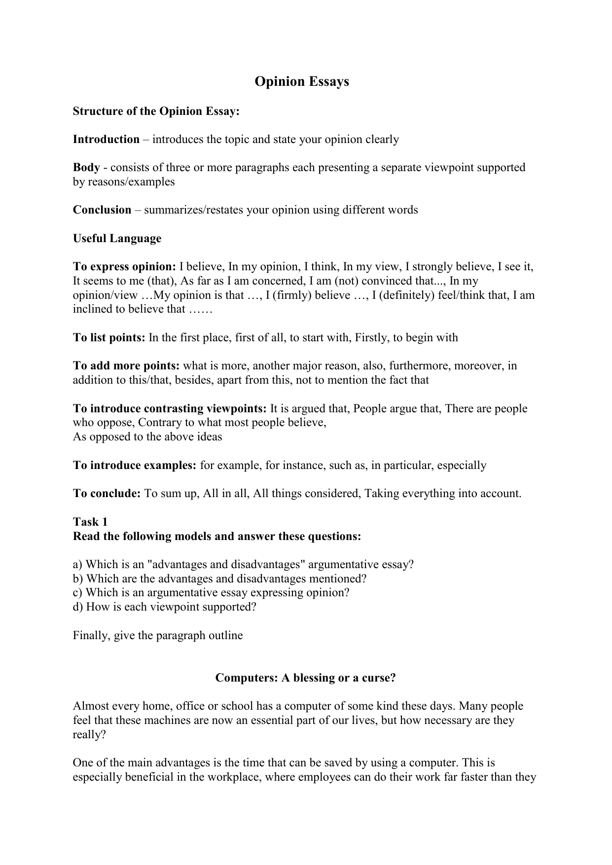 Gameshows opinion essay civil engineering technician cover letter