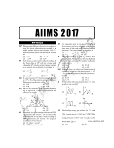 AIIMS-Solved-Paper-2017