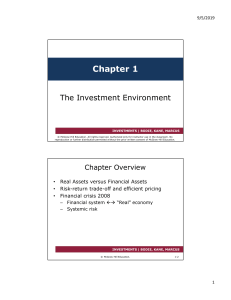 Investments Ch1
