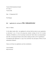 Application letter Moyo E