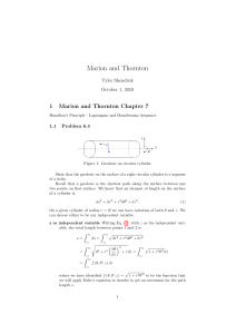 classical mechanics solution