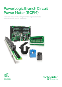 bcpm branch circuit power meter