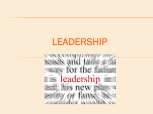 2019Leadership Unit Intro Powerpoint