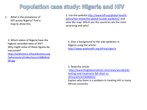 Population Nigeria and HIV (1)