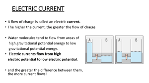 ELECTRIC CURRENT 2018 19