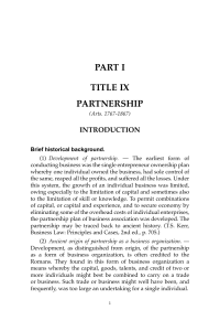 Partnership Agency and Trusts by De Leon 2010