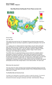 Geohazard Map in America
