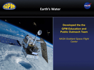 Earth's Water PP
