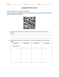 EarthsSpheresNoteCatcher QR Activity