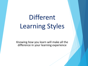 learningstyleslivesession