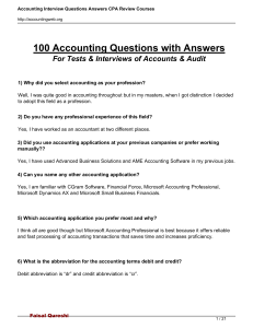 100-Test-Interview Questions Audit & Accounts MCQs