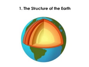 1.-Structure-of-the-Earth