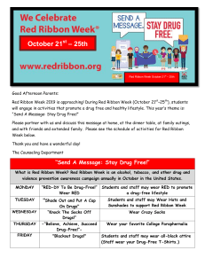 Red Ribbon Week Parent Letter and Schedule-October 21-25,  2019.docx (1)