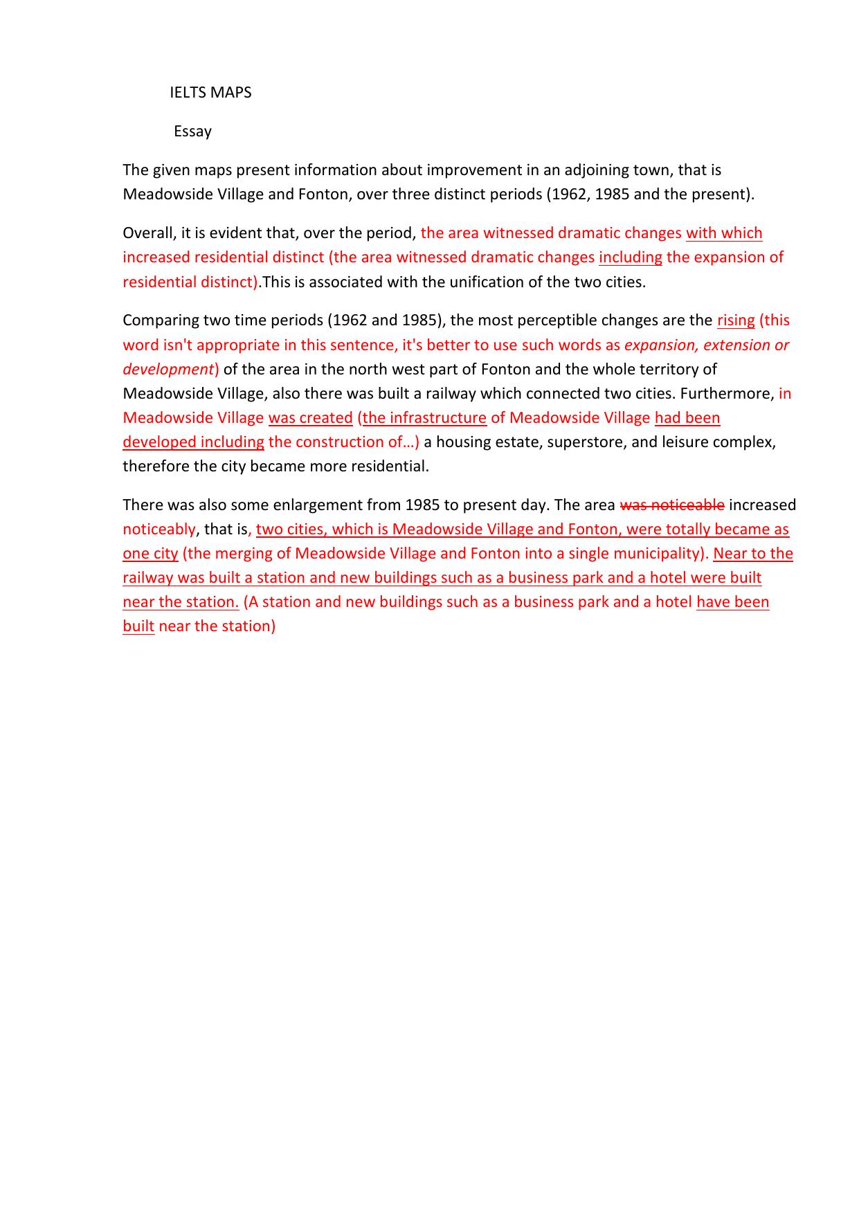 Intro essay format