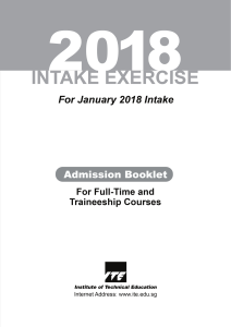 JIEN Admission Booklet 2018 Final