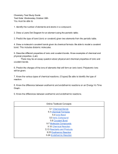 Copy of Chemistry Test Study Guide