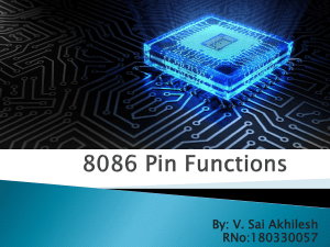 8086 Pin Functions (2)