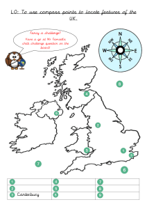 uk map treasure hunt activity