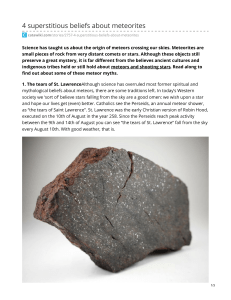 catawiki.com-4 superstitious beliefs about meteorites