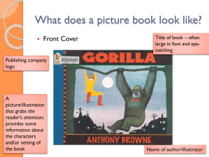 05 Visual Features of a Picture Book