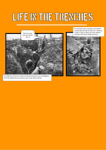Life in the trenches comic example