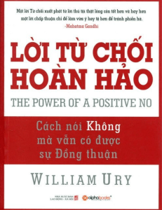 Sachvui.Com-loi-tu-choi-hoan-hao-william-ury